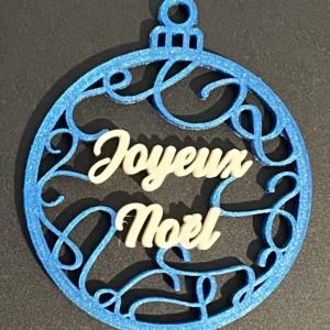 décoration de noël aux couleurs personnalisables